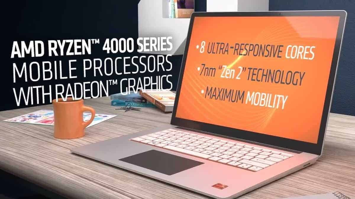 AMD Ryzen 4000 Series Mobile Processors